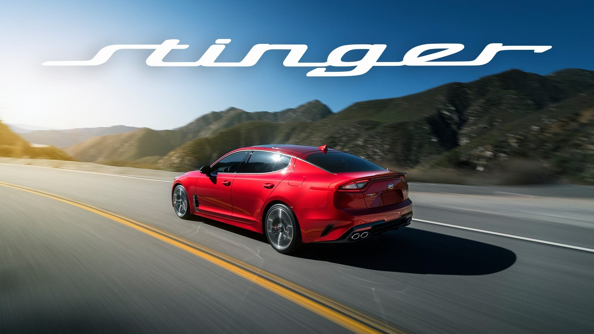 Salón de Detroit: Kia Motors da a conocer su nuevo sedán, el Kia Stinger.