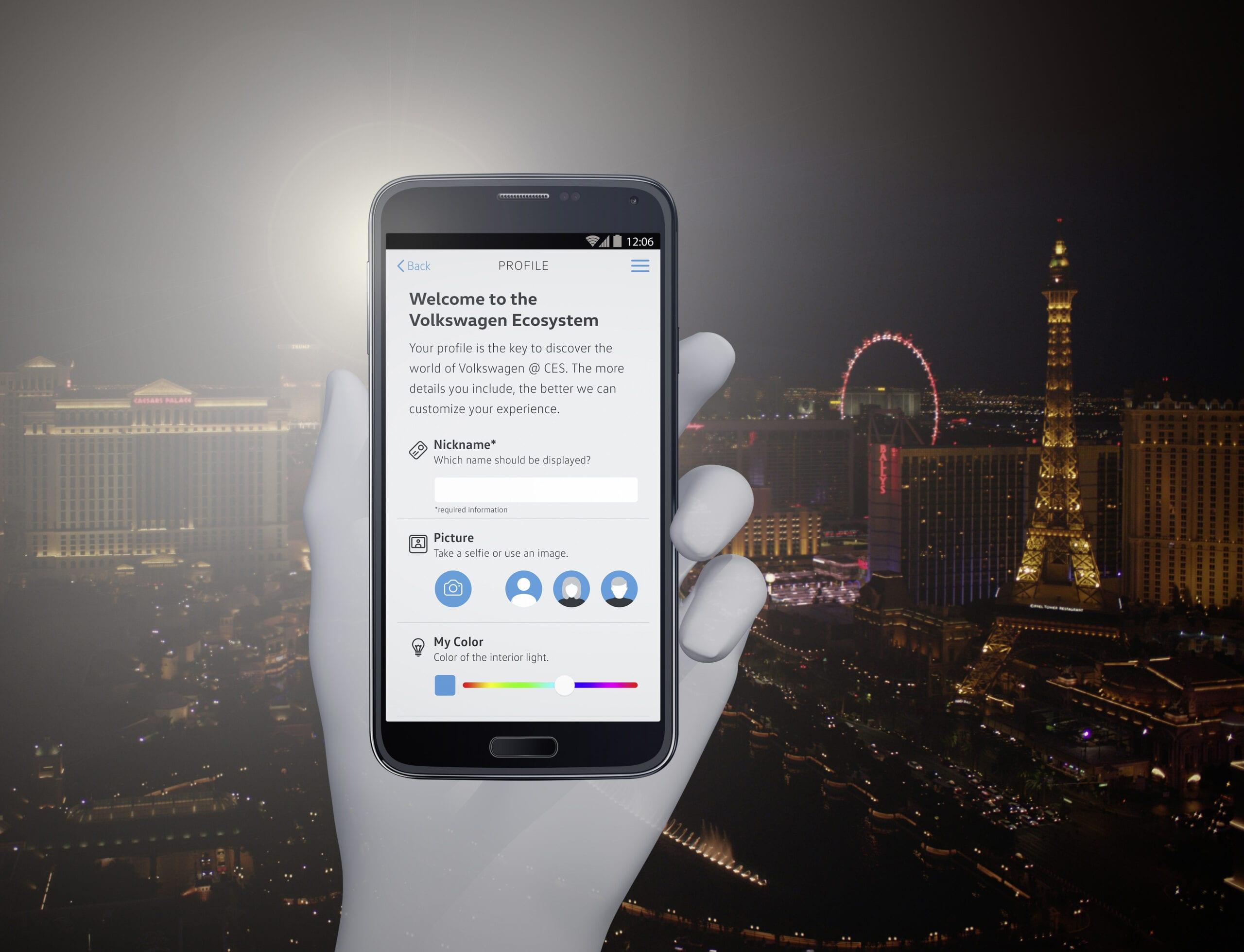 Volkswagen lanzará nueva App en el CES 2017
