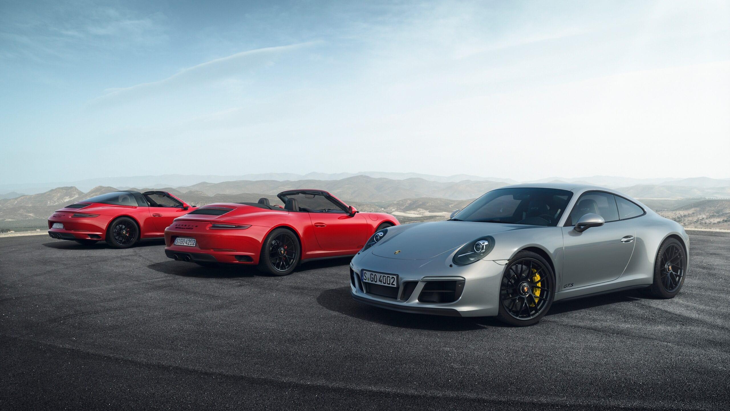 Porsche 911 GTS: Demuestra que menos es más
