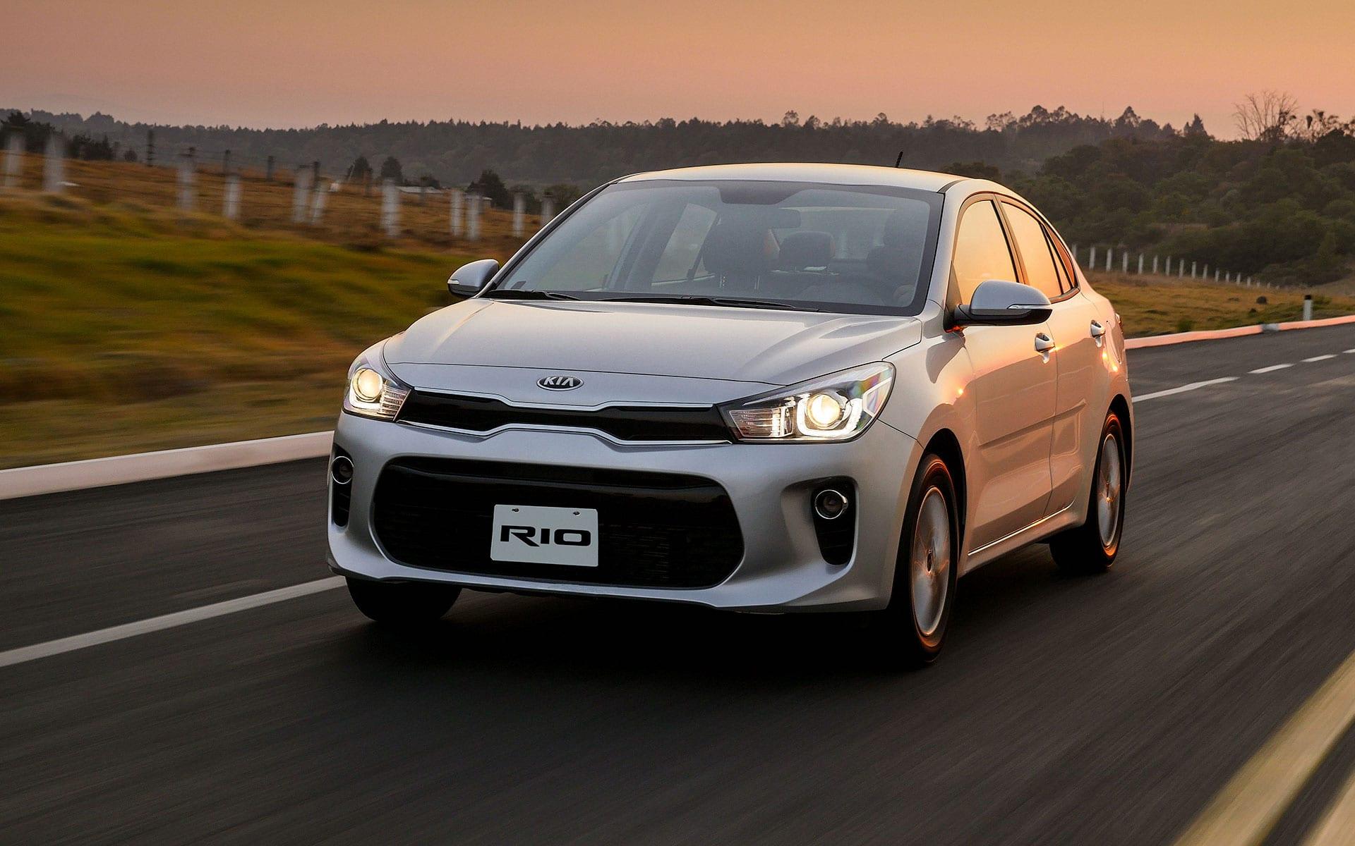 El Kia Rio Sedan (más básico) obtiene 0 estrellas en pruebas de choque