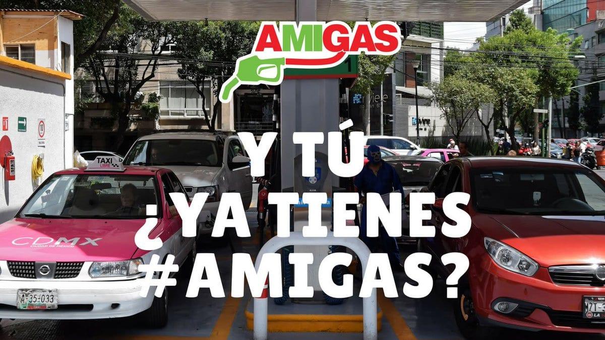Gasolinera AMIGAS