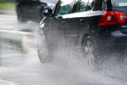 Conducción en lluvia