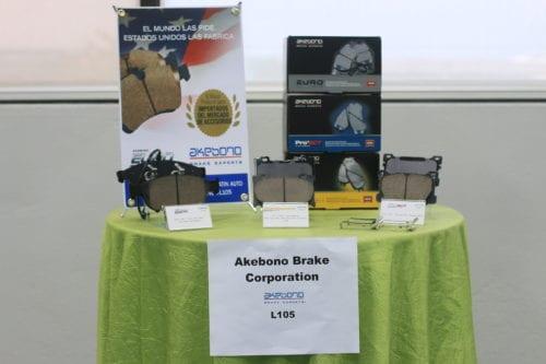 Latin Auto Parts Expo: Productos de Akebono Brake Corporation