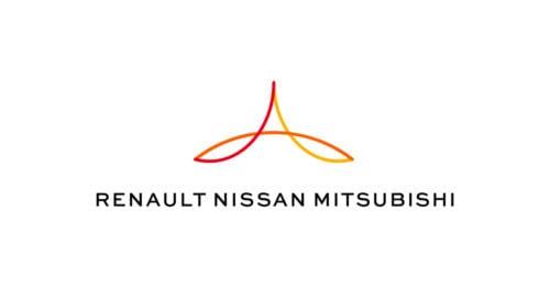 Logo de la Alianza Renault-Nissan y Mitsubishi