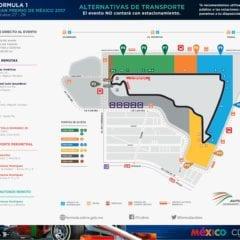 CDMX Activa Plan de Movilidad para el Gran Premio de México