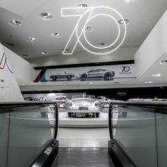 Museo Porsche celebra 70 aniversario con exposición