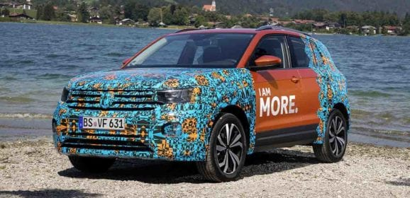 Colorea el camino con T-Cross de VW