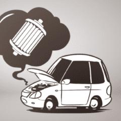 ¿Qué problemas puede ocasionar un filtro de gasolina sucio?