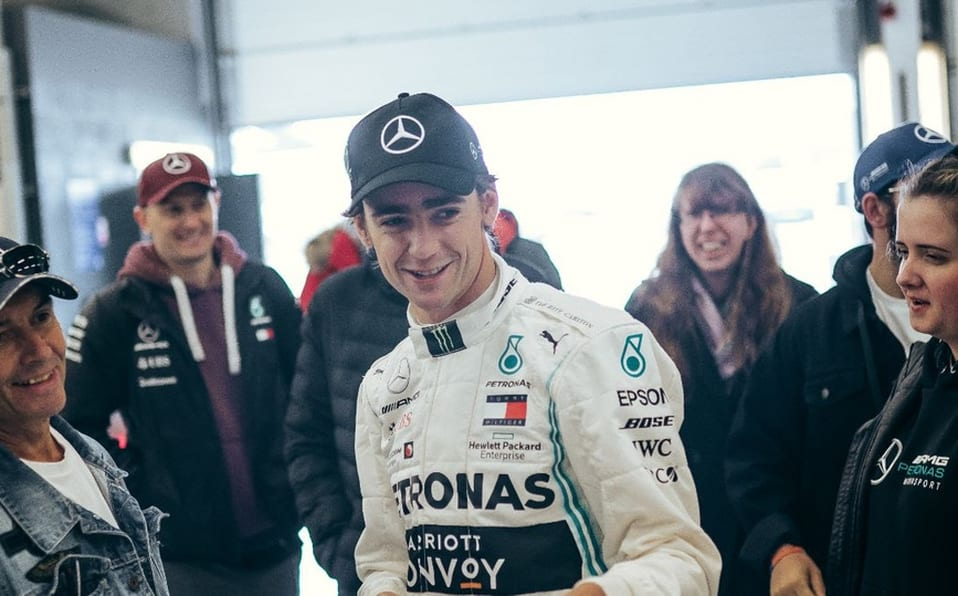 Esteban Gutiérrez. Piloto de Mercedes en la actualidad. Representó a México recientemente.